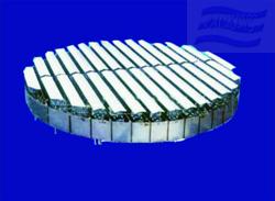 槽盤式液體分布器